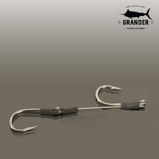 Bonze Grander Stainless Steel Double Hook Rig