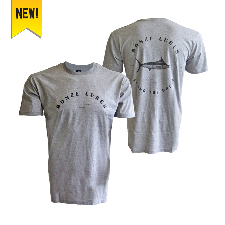 Bonze Living The Dream Tee (Grey)