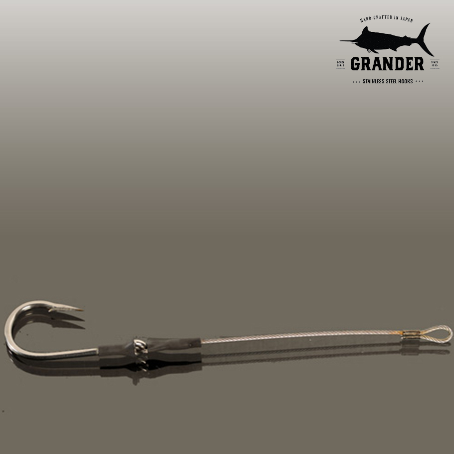 Bonze Grander Stainless Steel Single Hook Rig